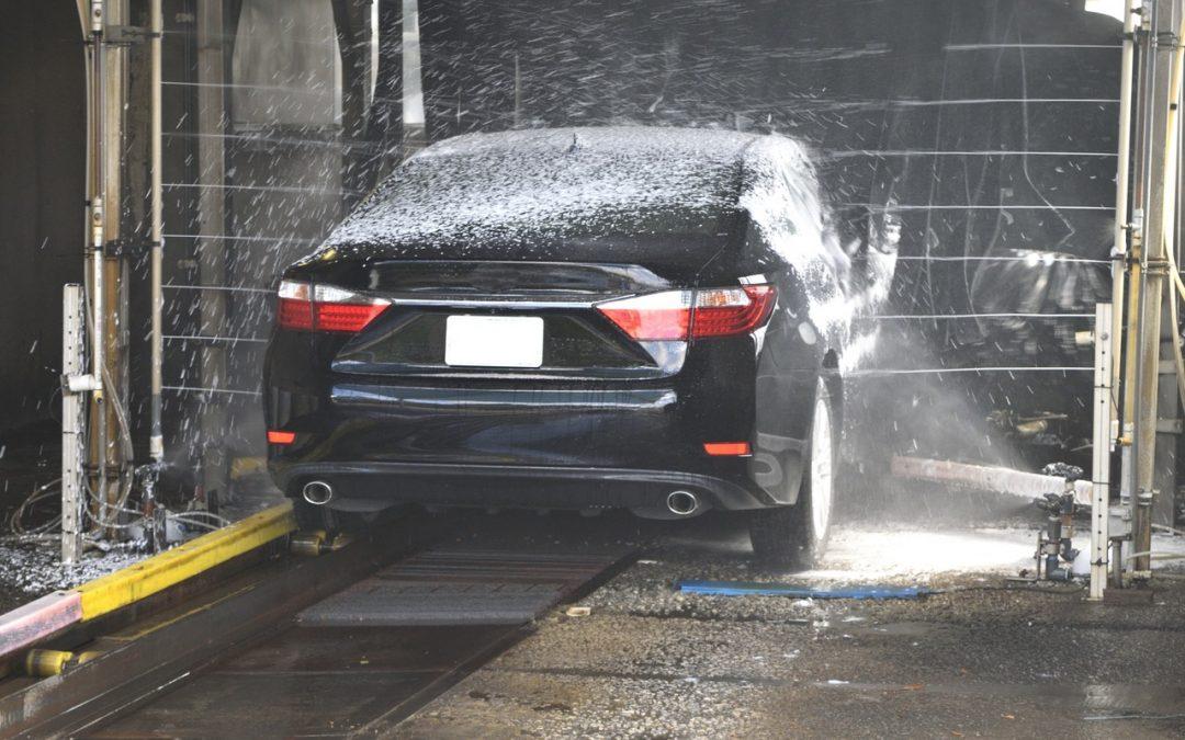 túnel de lavado de coches